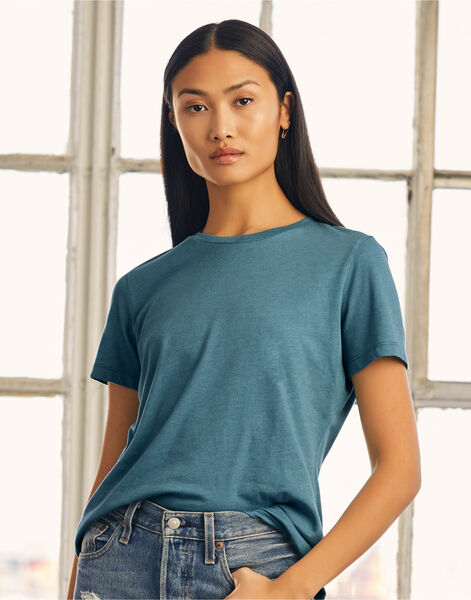 Photo of BE6400 Bella Womens Relaxed Jersey S/S Tee