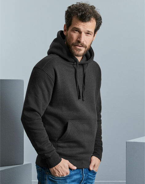 Photo of R261M Russell Mens Authentic Melange Hoodie