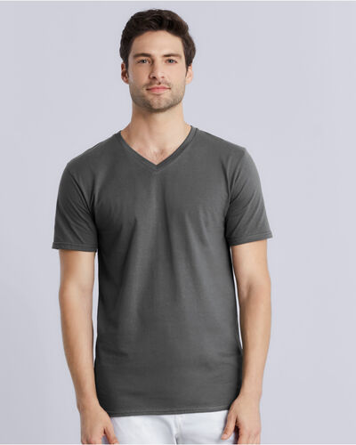 Photo of 41V00 Gildan Premium Cotton V Neck Tee
