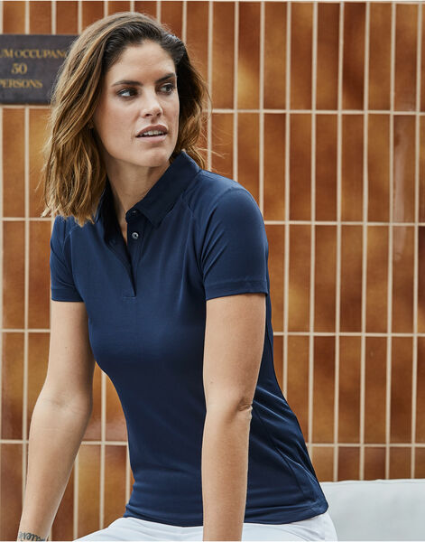 Photo of TJ7201 Tee Jays Ladies Luxury Sport Polo