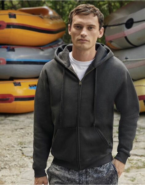 Photo of 62034 Zip Through Hooded Sweatshirt