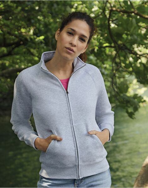 Photo of 62116 Lady-Fit Sweat Jacket