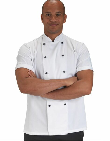 Photo of DD20S Lightweight Short Sleeve Chefs Jacket