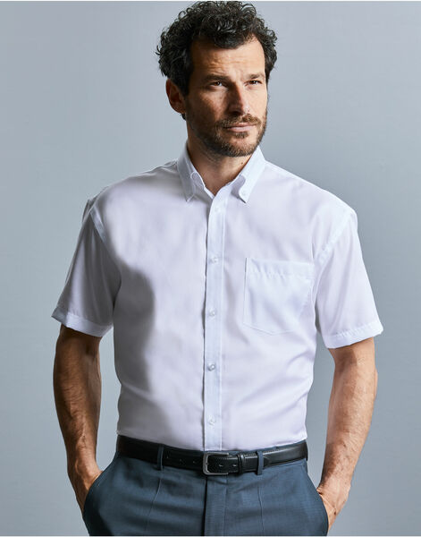 Photo of 957M Men's Short Sleeve Ultimate Non-Iron Shirt