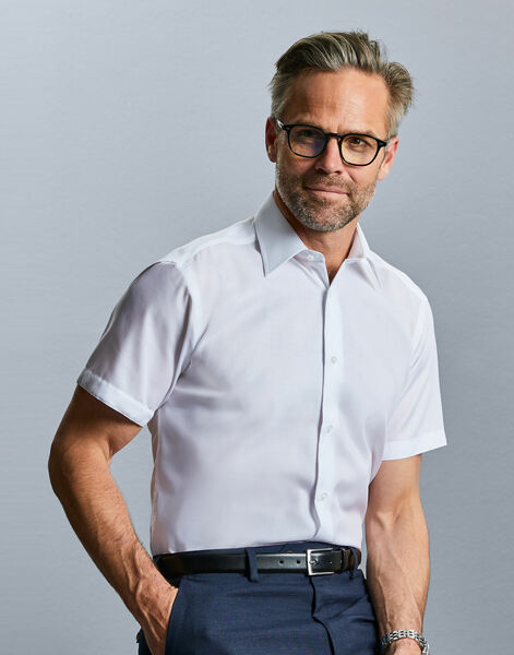 Photo of 959M Men's Short Sleeve Tailored Ultimate Non-Iron Shirt