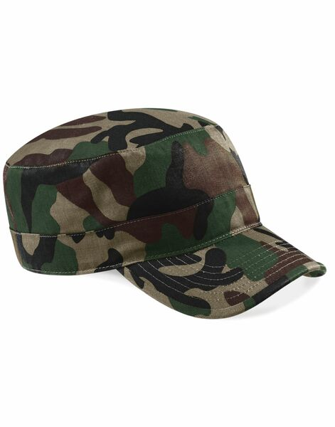 Photo of B33 Beechfield Camo Army Cap