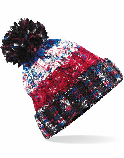 Photo of B486 Beechfield Corkscrew Pom Pom Beanie