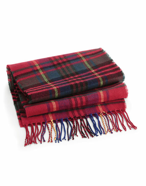Photo of B489 Beechfield Classic Check Scarf