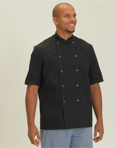 Photo of DD08CS Economy Short Sleeve Chef's Jacket
