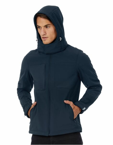 Photo of JM950 B&C Men's Hooded Softshell