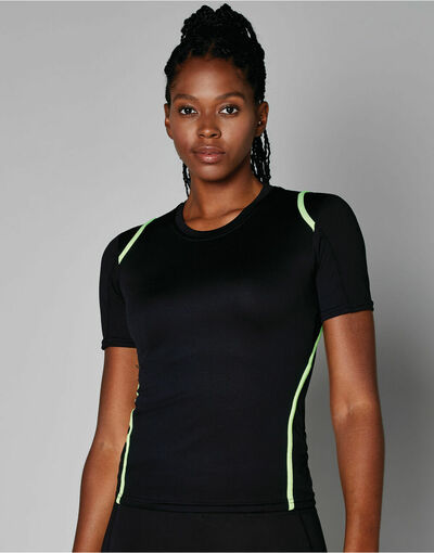 Photo of KK966 Ladies' Cooltex Short Sleeved T-Shirt