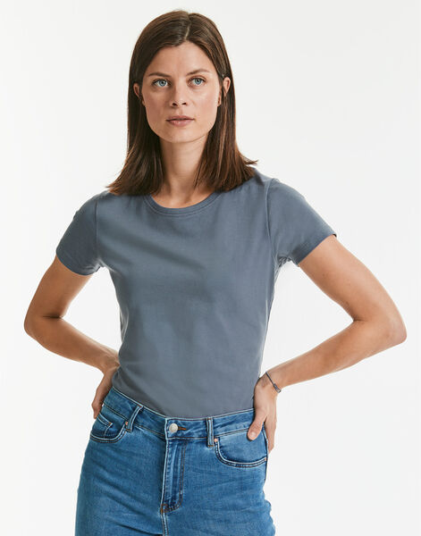 Photo of R118F Russell Ladies Pure Organic Heavy Tee