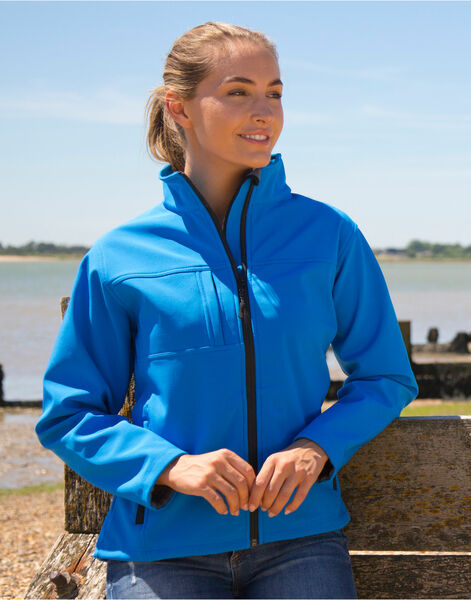Photo of R121F Result Ladies Classic Softshell Jacket