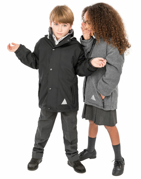 Photo of R160JY Children's Reversible Storm Stuff Jacket