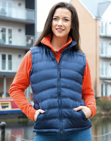 Photo of R193F Result Urban Lady Ice Bird Padded Gilet