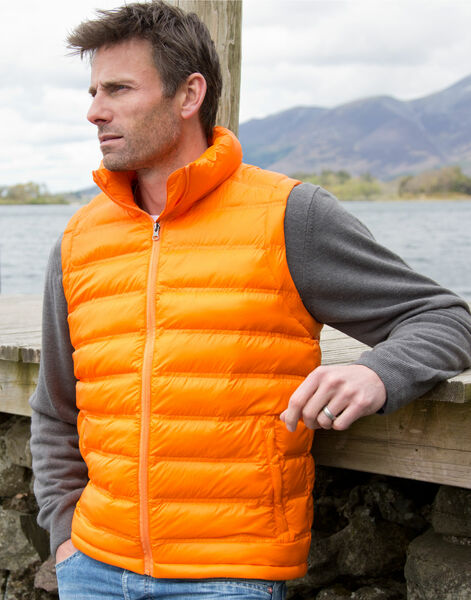 Photo of R193M Result Urban Mens Ice Bird Padded Gilet