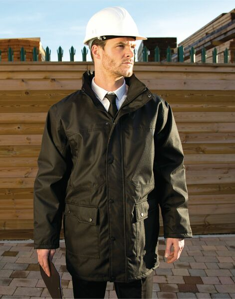 Photo of R307M Result Workguard Mens Platinum Jacket