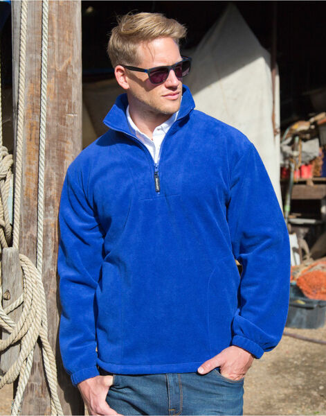 Photo of R33X Unlined Active 1/4 Zip Fleece Top