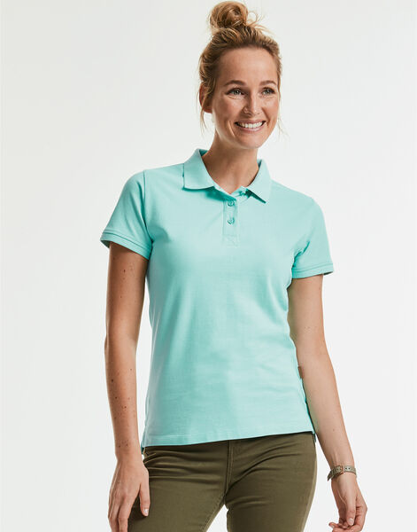 Photo of R508F Russell Ladies Pure Organic Polo