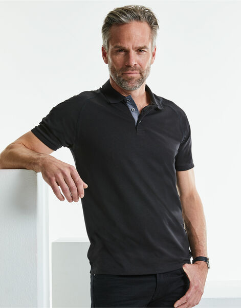Photo of R565M Russell HD Raglan Polo