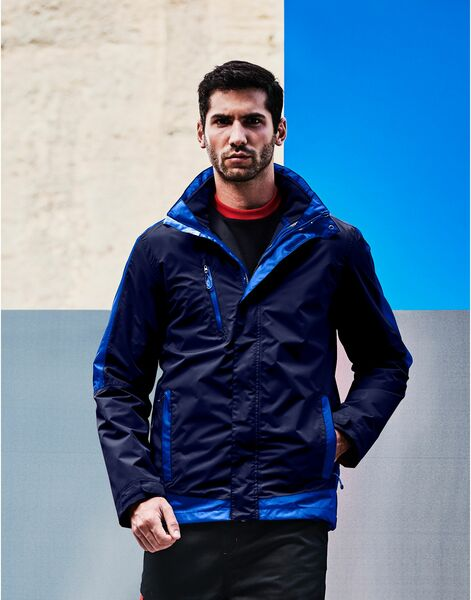 Photo of TRA151 Regatta Mens Contrast 3-in-1 Jacket