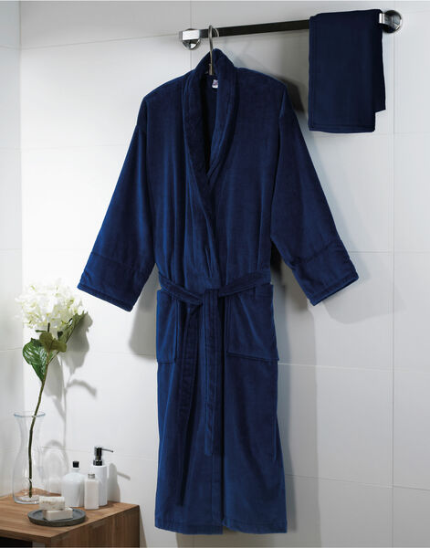 Photo of T03523 Velour Bath Robe