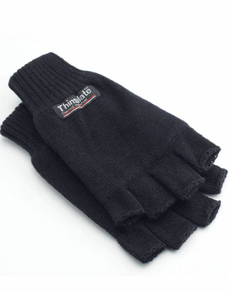 Photo of WN783 3M Thinsulate Half Finger Gloves