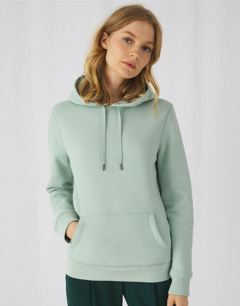 Photo of WW02Q B&C Womens Queen Hooded Sweat