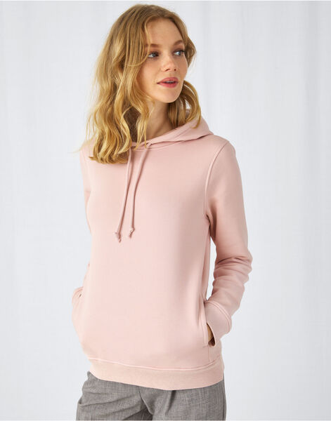Photo of WW34B B&C Womens Organic Hooded Sweat