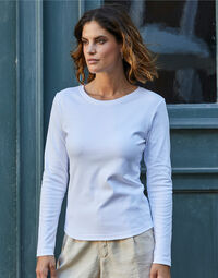 photo of Tee Jays Lady Long Sleeve Interlock... - TJ590