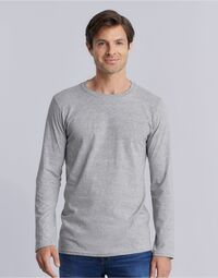 photo of Men's Soft Style Long Sleeve T-Shir... - 64400