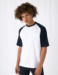 photo of B&C Mens S/Sleeve Baseball Tee - TU020