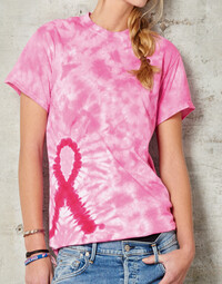 photo of Colortone Tie-Dye Awareness Tee - 2000TD