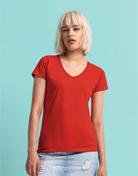 photo of Fruit Of The Loom Ladies 150 V-Neck... - 61444