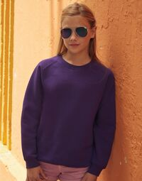 photo of Childrens Raglan Sleeve Sweatshirt - 62033