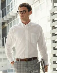 photo of Men's Long Sleeve Oxford Shirt - 65114