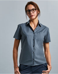 photo of Ladies' Short Sleeve Polycotton Eas... - 935F