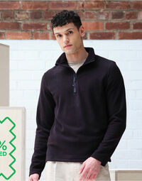 photo of Honestly Made Recycled Half Zip Fle... - TRF636
