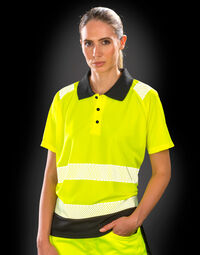 photo of Result Recycled Safety Polo - R501X