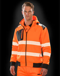 photo of Result Recycled Robust Zip Safety H... - R503X