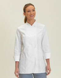 photo of Dennys Ladies L/Sleeve Chefs Jacket - DD33L