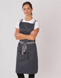 photo of Dennys Cross Back Apron - DP130
