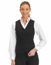 photo of Dennys Womens Self Back Waistcoat - DS13