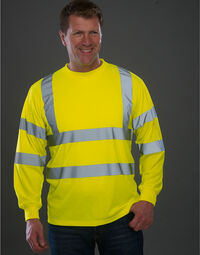 photo of Yoko Hi Vis Long Sleeve Tee - HVJ420