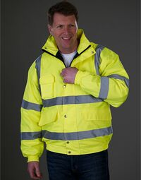 photo of Hi-Vis Bomber Jacket - HVP211
