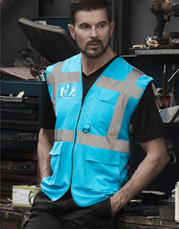 photo of Hi-Vis Executive Waistcoat - HVW801