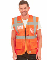 photo of Yoko Cool Mesh Safety Vest - HVW820