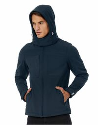 photo of B&C Men's Hooded Softshell - JM950