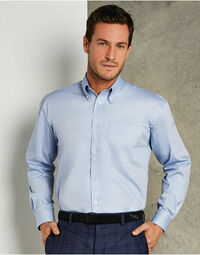 photo of Men's Long Sleeve Corporate Oxford ... - KK105