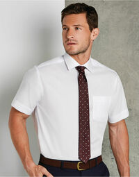 photo of Men's Premium Non Iron Short Sleeve... - KK115